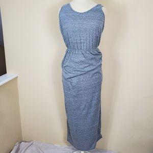 En Creme Gray Maxi Dress